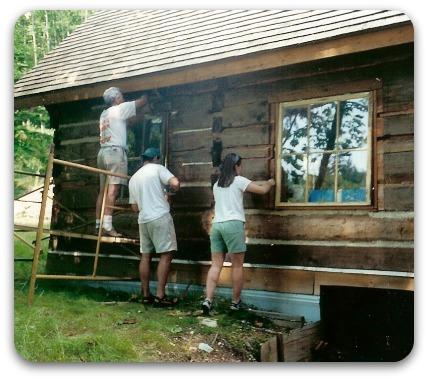Restoring A Heritage Log Cabin A Labour Of Love