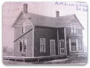 My great-grandmother's city house.