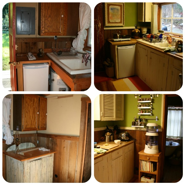 Kitchen cabin renovation