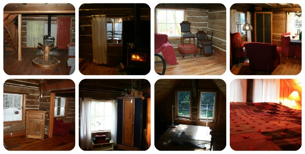 Log cabin interior renovation